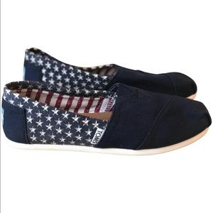 Toms USA Canvas Slip-Ons